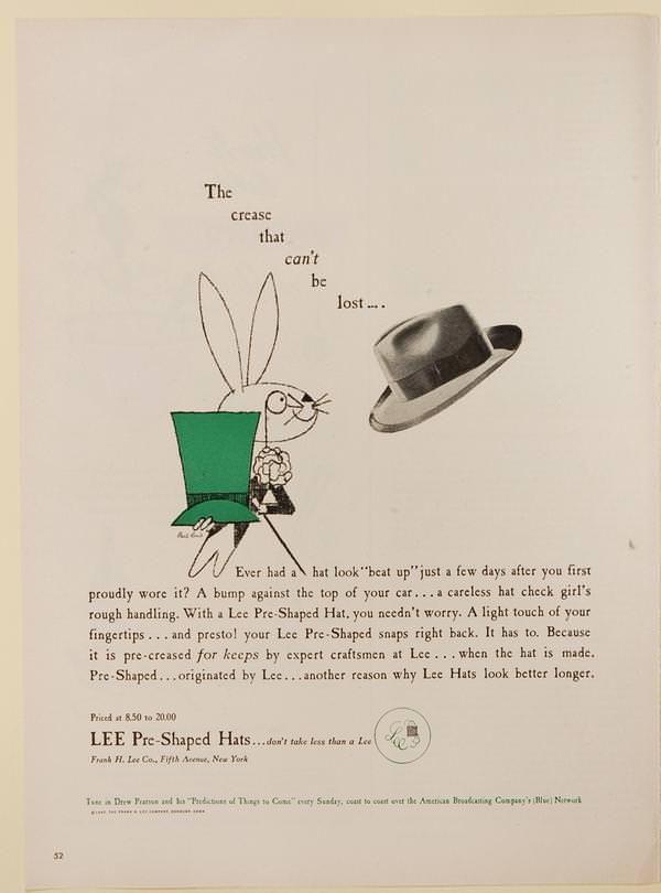 Paul Rand - Lee Hats