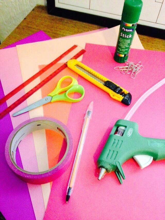 Art attack! Materiales