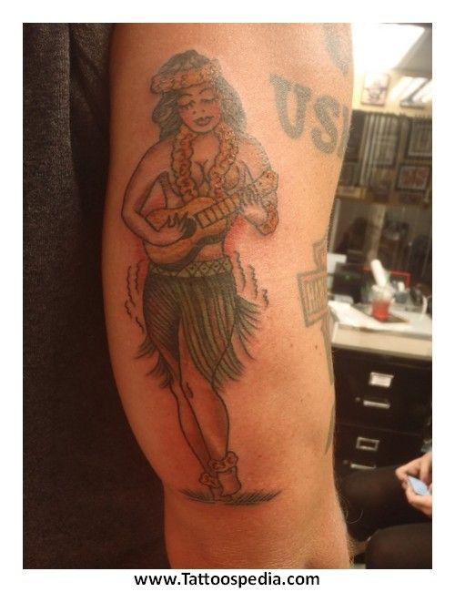 the 25 best hula girl tattoos ideas on pinterest hawaiian girl tattoos sailor jerry tattoos. Black Bedroom Furniture Sets. Home Design Ideas