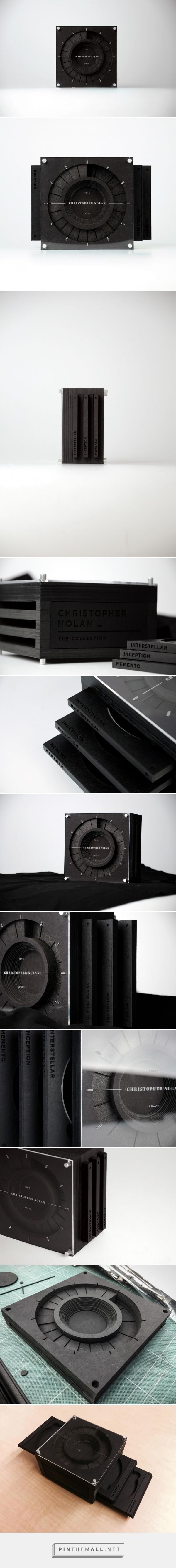 Christopher Nolan's Time X Space Collection packaging design by David Taehwan Lim - http://www.packagingoftheworld.com/2017/06/christopher-nolan-time-x-space.html