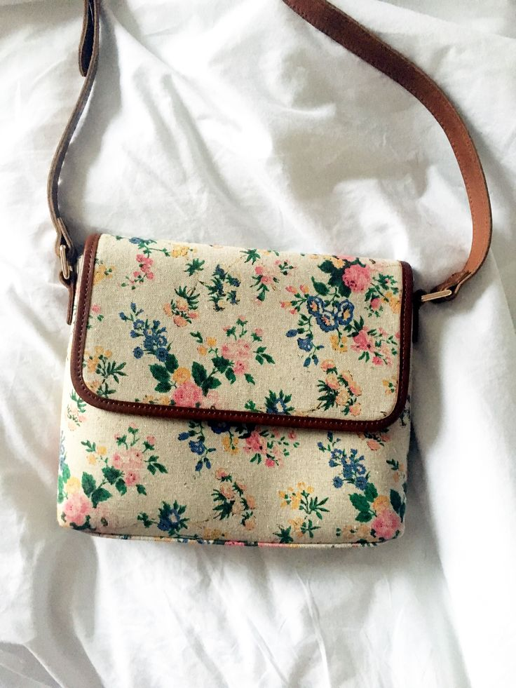 Over the shoulder floral print bag from Laura Ashley