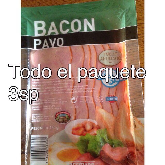 Bacon pavo Casa Tarradellas.