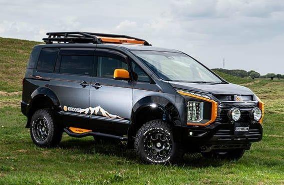 新型デリカd 5のactive Gear その塗り分け アリかも カディスが提案するオフ系カスタムの画像 ドレスアップ カスタマイズ スタイルワゴン ドレスアップナビ カードレスアップの情報を発信するwebサイト 2021 デリカd5 カディス アウトドア 車