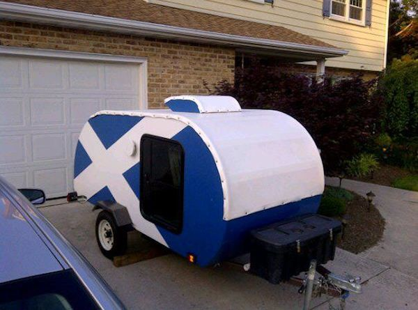 Zach's Homemade DIY Teardrop Camper and How to Build your Own