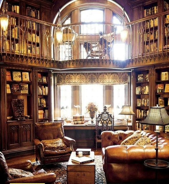 20 Glorious Old Mansion Bedrooms: 20+ Best Old Home Library Room Design And Decorating Ideas