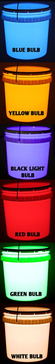 Camping Bucket Light - Easy DIY project!  Plan on making one of these soon for camping!