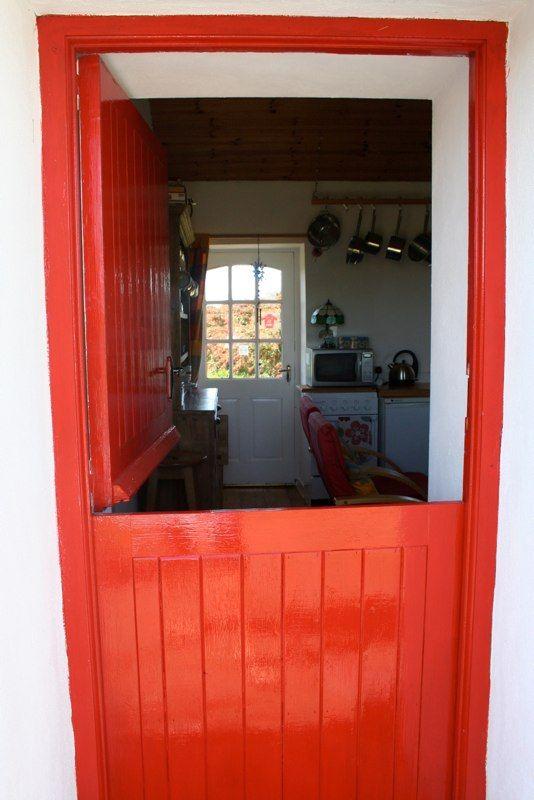 Half Door At Fushia Cottage Irish Cottage For Sale Co