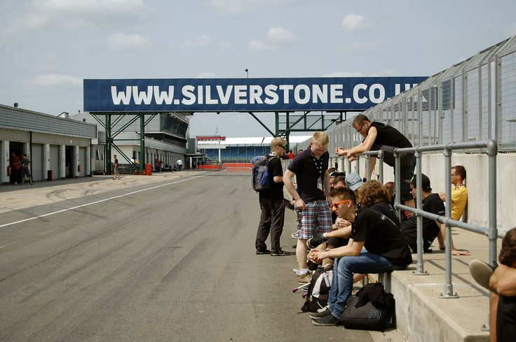 Taking a well earned break at Formula Student