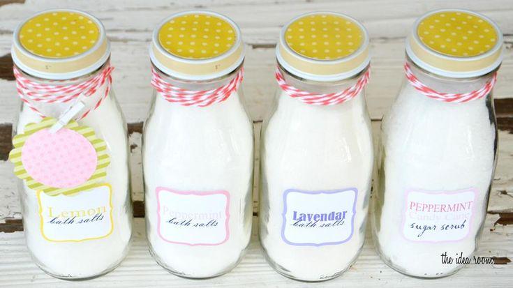 Bain moussant, baume à lèvres, exfoliant, sel et b...