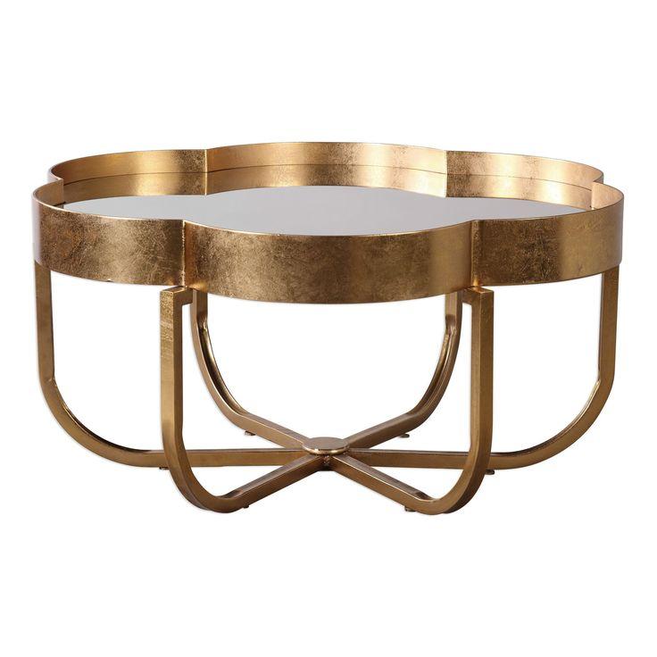 Cydney Gold Coffee Table Uttermost UTTM-24739