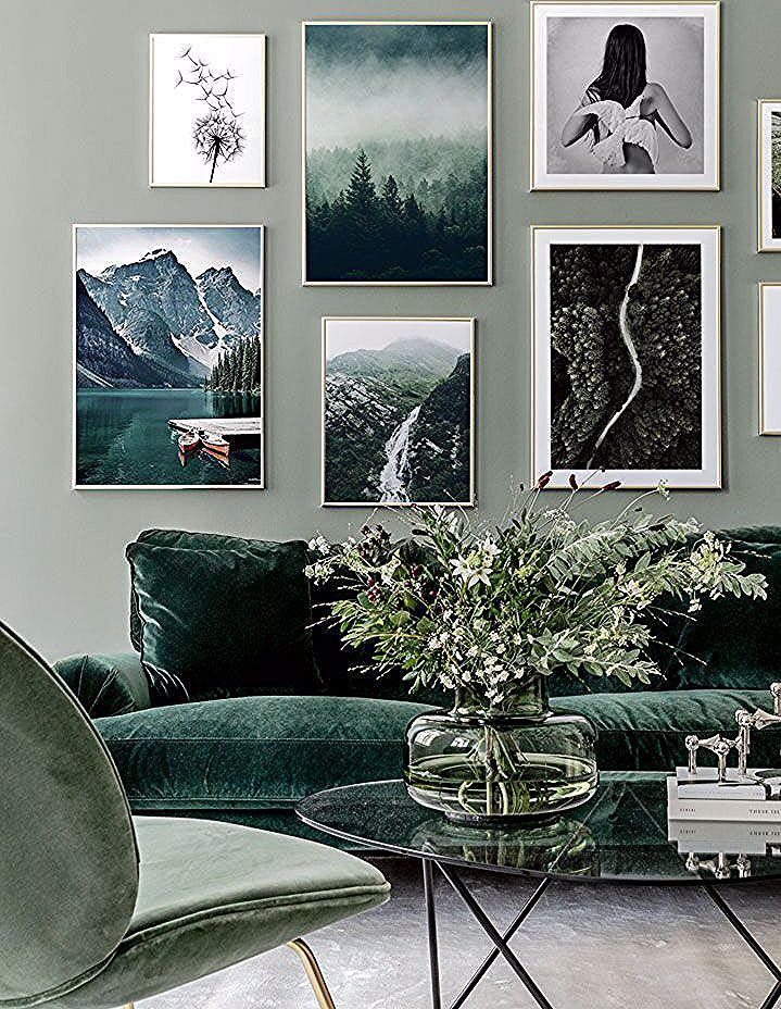 Idée décoration intérieure maison - déco salon meubles en ...