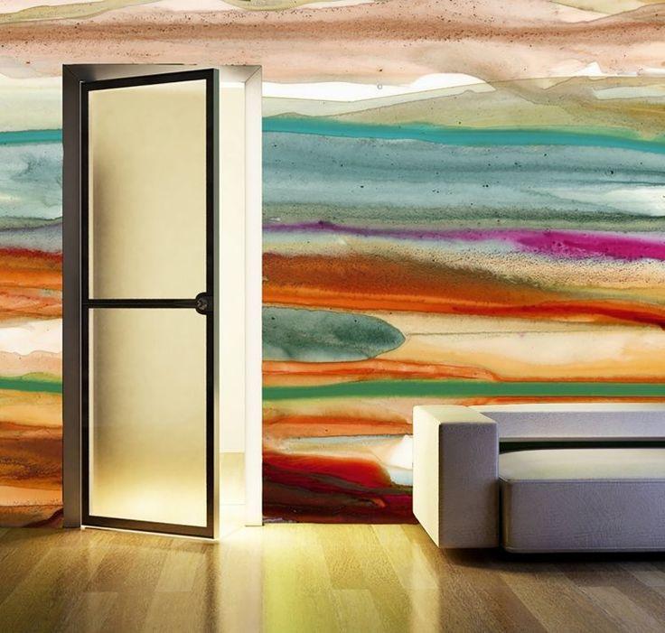 Die besten 25+ Wandbemalung Ideen auf Pinterest Wandmalerei - einfach nachgemacht wandgestaltung wischtechnik