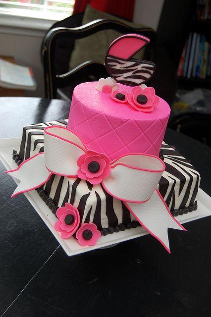 Pink Zebra Baby shower | Flickr - Photo Sharing!