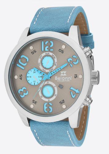 Ρολόι Unisex με λουράκι δερμάτινο BLN5103B