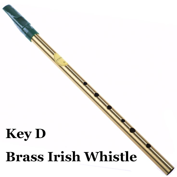 Mosiądz Irlandzki gwizdek Gwizdek klucz D Irlandia Flet Feadog Cyny Metalu Kieszeni Feadan 6 Hole Tradycyjne Flauta Instrument Muzyczny