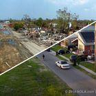 Drag your cursor (on a computer) or swipe your finger (on a phone or tablet) across each photo below. The 2005 Hurricane Katrina photo will dissolve into a picture from the identical vantage point nine years later. CANAL STREET...
