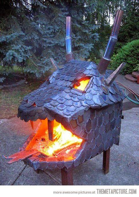 dragon campfire