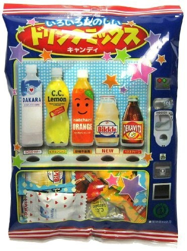 Lotte Mixed Soda Japanese Hard Candy (Japanese Import) [JN-ICNI] by Lotte