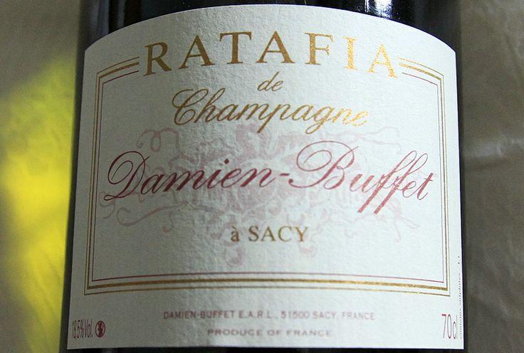Ratafia champenois Damien-Buffet   Champagne 1er cru Damien Buffet et chambre d'hôtes à Sacy près de Reims