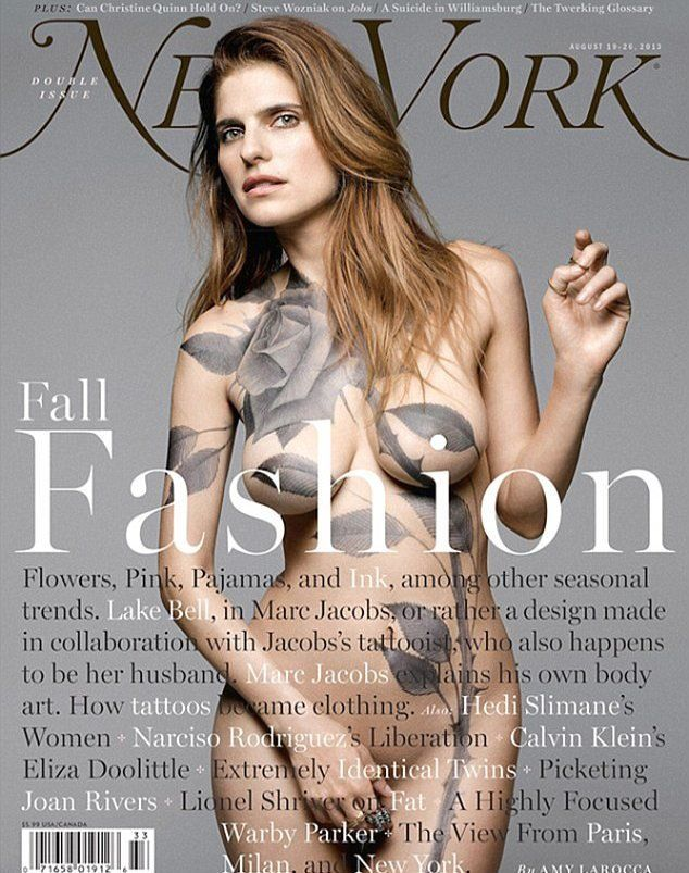 Pin for Later: 38 of the Hottest Nude Magazine Covers, Hands Down Lake Bell For New York Magazine, August 2013 Source: NY Mag