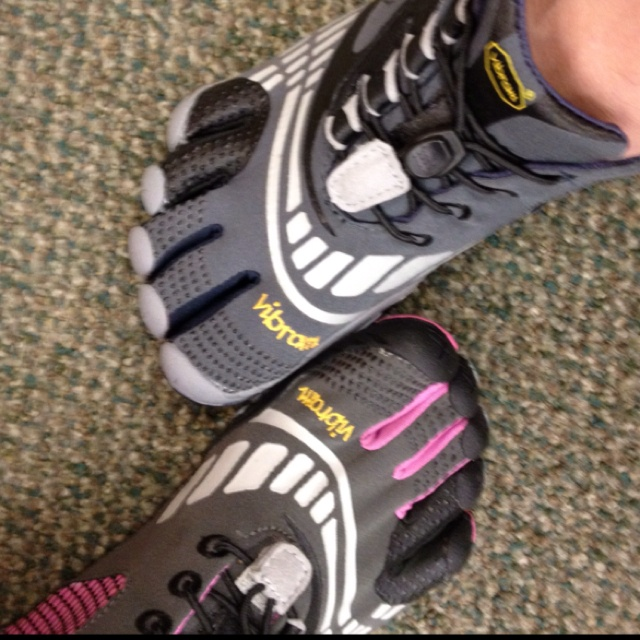 Me and my bf's vibram toe shoes