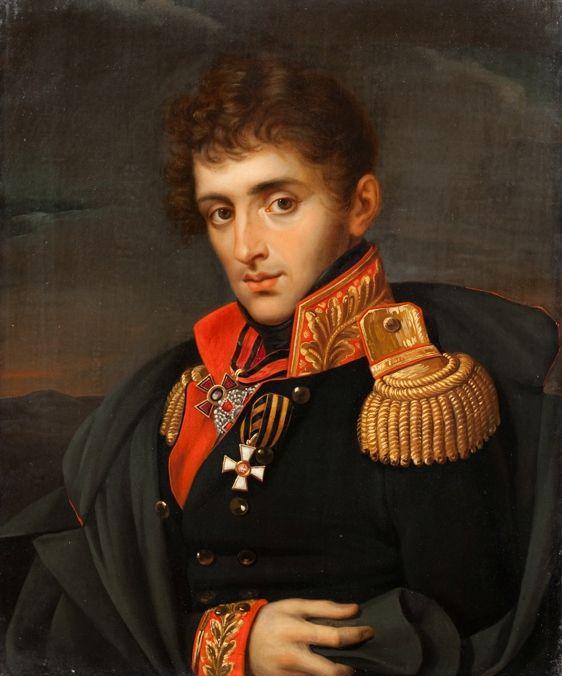 Портрет Н. А. Тучкова. Неизвестный художник. Середина XIX в.