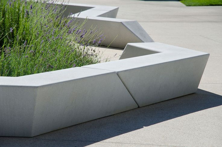 Outdoor Furniture Made From Plastic Amp Slimline Concrete