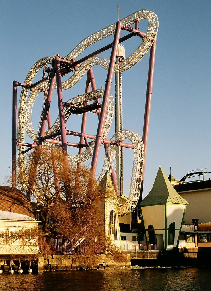 Insane is a roller coaster at Gröna Lund in Stockholm. Insane is an Intamin Zac-Spin roller coaster. It opened in 2009. The train cars contain 4 seats with 2 on each side. When navigating the course the trains are free to spin and flip.