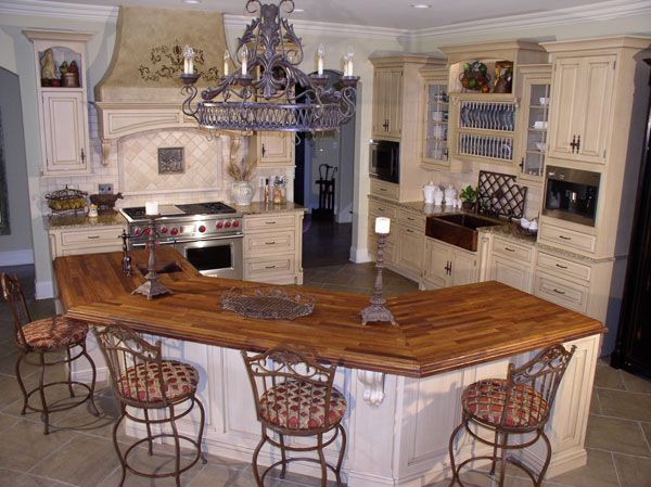 17 best images about kitchen island on pinterest a start for Kitchens with islands in the middle