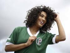Vencedora do Miss Brasil-2016, Raissa Santana é representante do estado do <br>Paraná, local em que o Palmeiras enfrenta o América-MG hoje