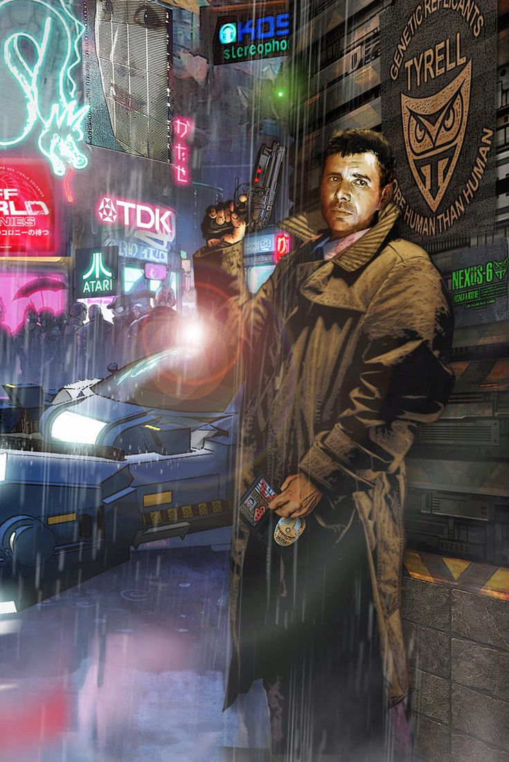 In the 1982 sci-fi classic, Blade Runner, no one could retire replicants like Rick Deckard (played by the great Harrison Ford).