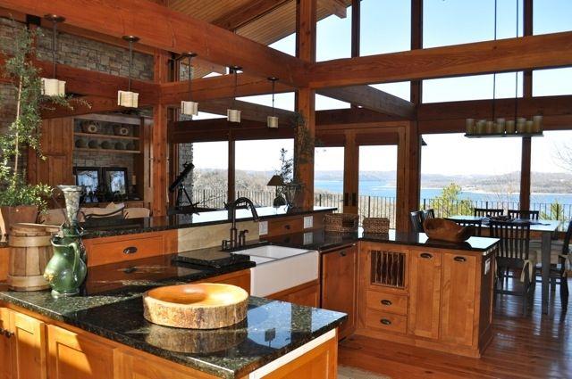 Lake House Kitchen Design Ideas ~ Lake house kitchen designs inside outside