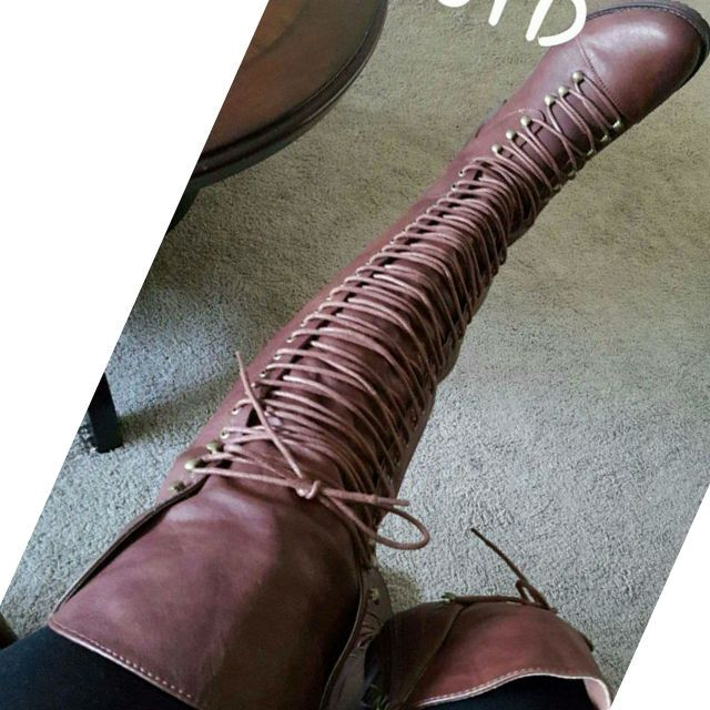 17 best ideas about Thigh High Combat Boots on Pinterest | Combat ...