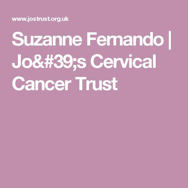 Suzanne Fernando | Jo's Cervical Cancer Trust