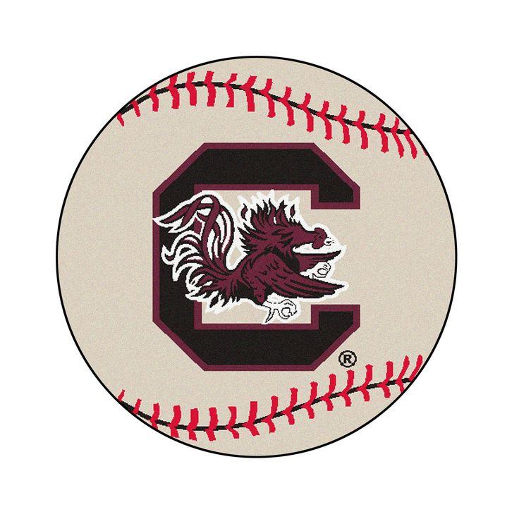 NCAA 27 Baseball Mat South Carolina Gamecocks