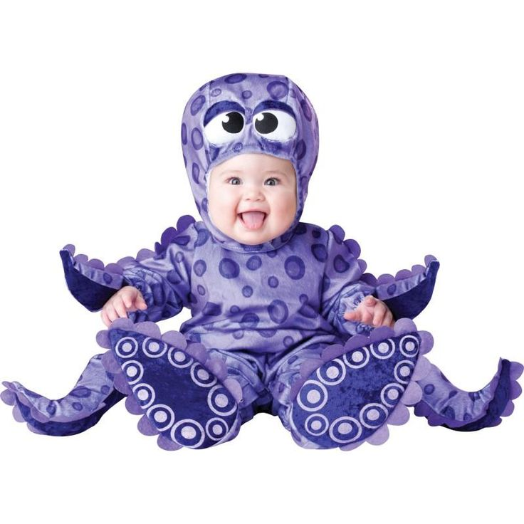Tiny Tentacles Octopus Infant / Toddler Costume Purple