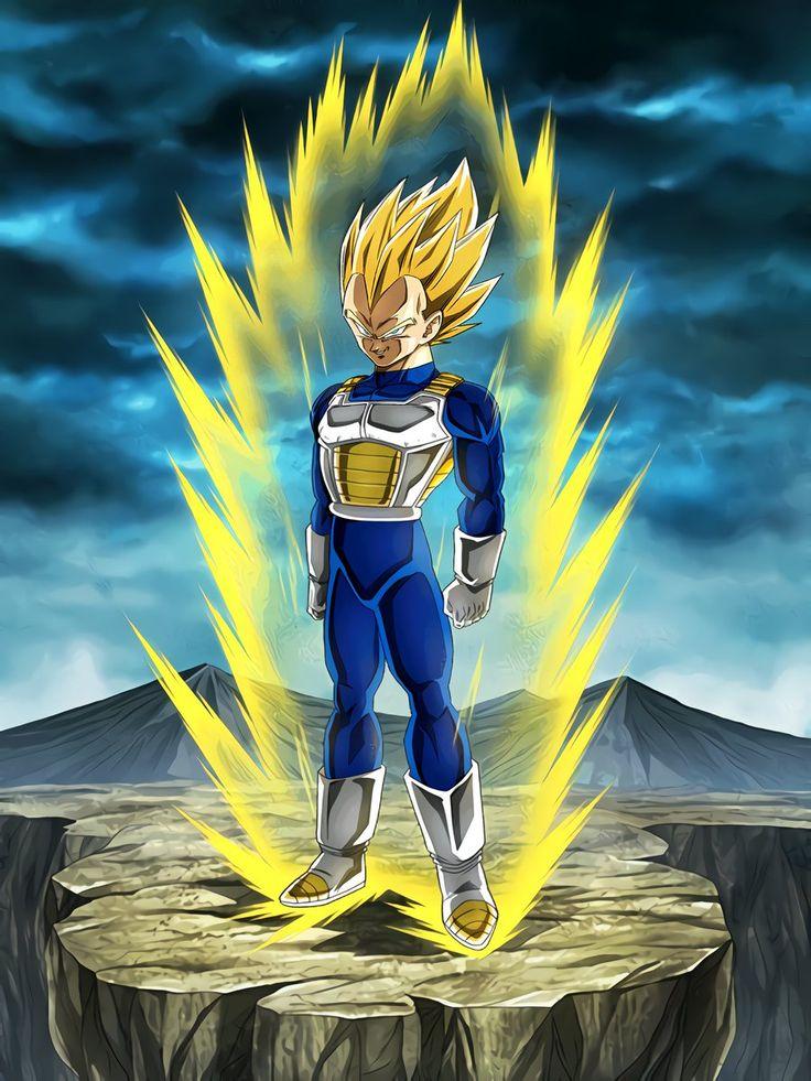 Limitless Combat Power Super Saiyan Vegeta Dragon ball
