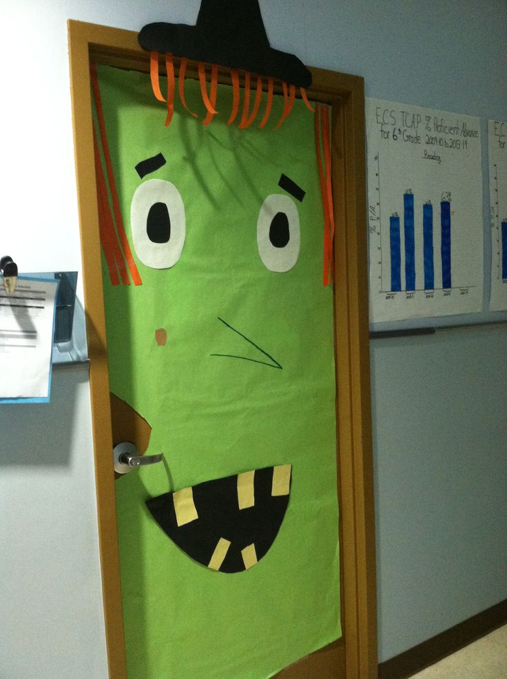 October Classroom Decor ~ Best images about classroom door decorations on