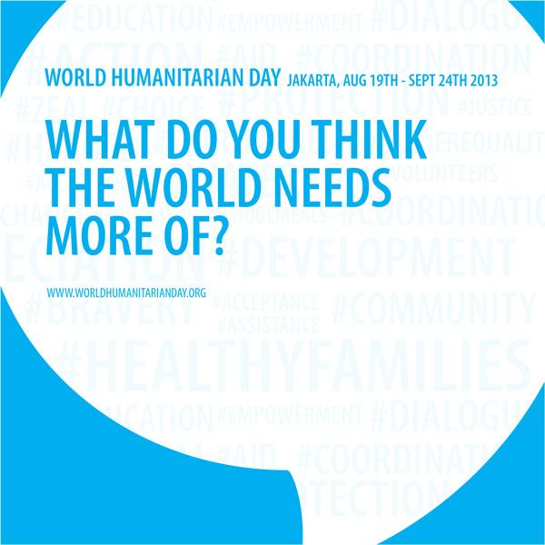 Photo Book for World Humanitarian Day's activity. Client: UNDP