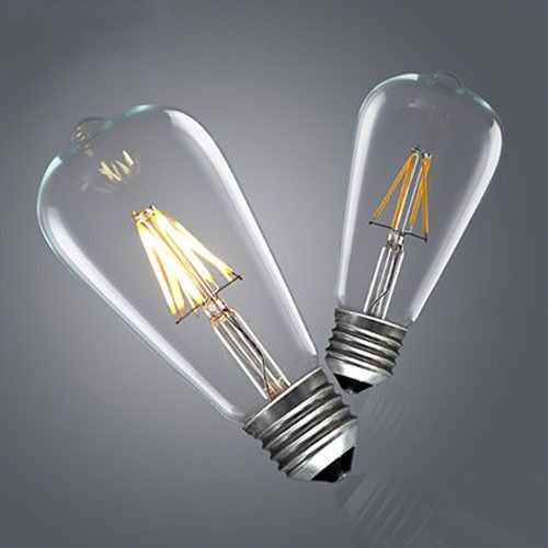 Find More LED Bulbs & Tubes Information about Retro Vintage LED Edison Bulb E27 ST64 4W/6W/8W Dimmable Led Filament 360 Degree Bulb Edison Lamp bulbs,High Quality light torch,China lighting galaxy Suppliers, Cheap light pink hair dye from Zhongshan East Shine Lighting on Aliexpress.com