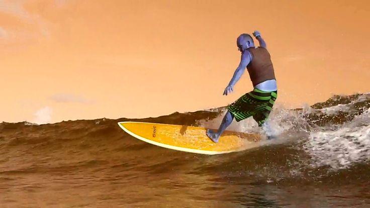 harry surfing