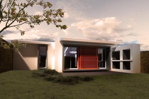 Sauco 2 dormitorios procrear programa cr dito for Modelos casas procrear 2016