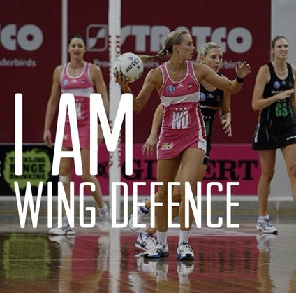 """I am the interceptor. I'll make you pay for that mistake. I am Wing Defence"" ~ ANZ Netball"