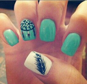Feather nail!