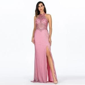 Pink Long Evening Dresses Hollywood