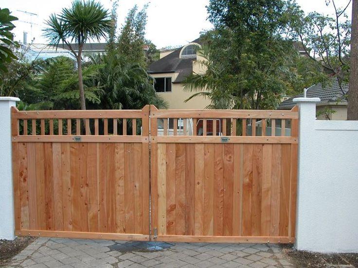 Cancello In Legno Fence Gate In 2019 Wooden Gates