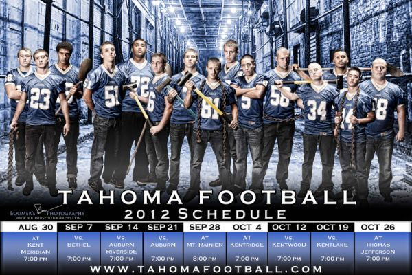 Wyoming's Football Schedule Poster