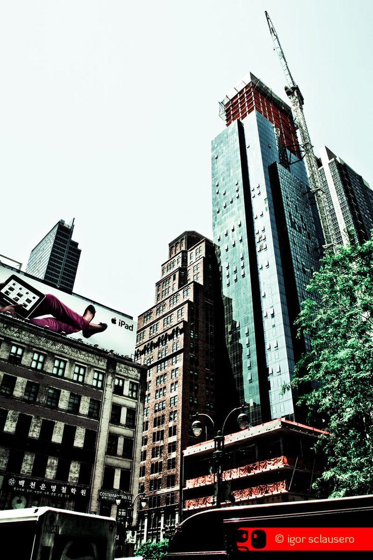 pad  © Igor Sclausero #manhattan #newyork