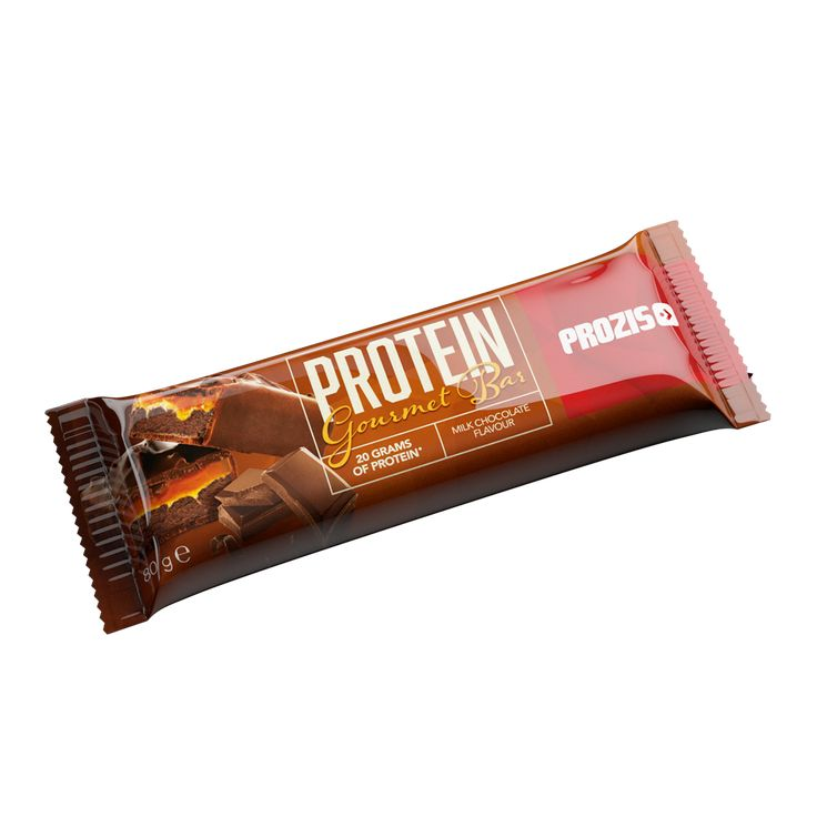 An incredibly delicious snack, Prozis Protein Gourmet Bar combines chocolate, caramel and hazelnuts in a guilt-free high-protein bar.