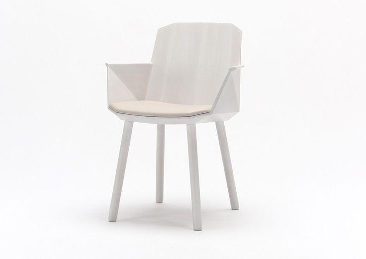 colour wood chair by scholten & baijings for karimoku new...
